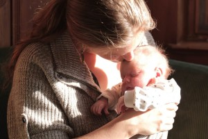 Sprechen mit dem Neugeborenen