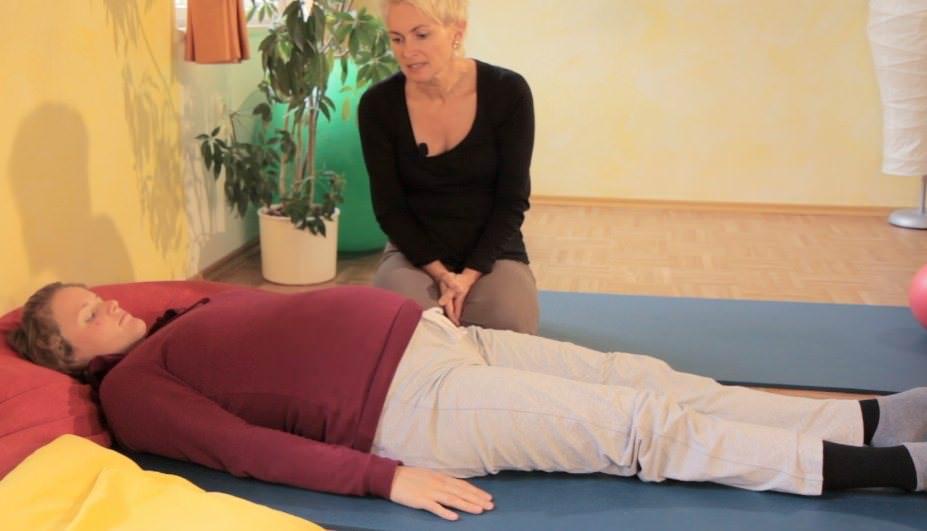 Entspannungsübungen für Schwangere
