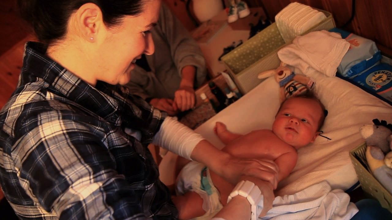 Der Säuglingspflegekurs